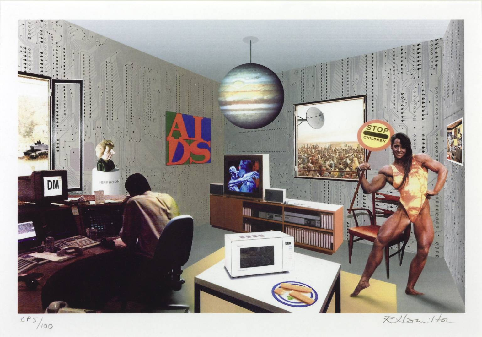 Richard Hamilton´s collages;